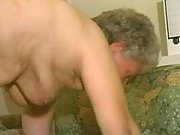 Two old housemaids hungry for cock