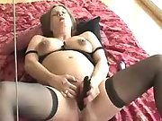 Pregnant babe is nastily pounded