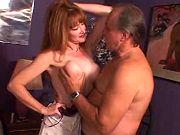 Redhead mommy having an affair in cheap hotel