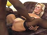Old mama gets nailed by black cock