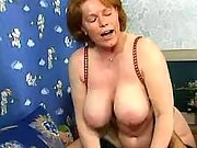 Old busty cum hungry whores in orgy