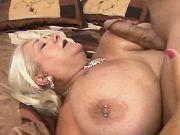 Chubby granny w very big tits gets crazy titsfuck