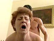 Perky granny get hammered real hard