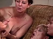 Three old whores long for a hot cum