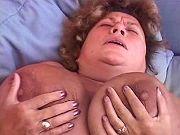 Fat grandma loves to feel big ramrod in her hole
