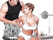 Corina Curves Squat-on-it Training