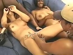 Steamy busty lesbians with narrow twats
