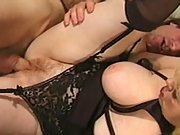 Hairy mom in some hardcore sex