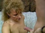 Spoiled granny with hairy pussy get cum after fuck