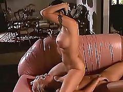 Stiff nipple caress wet pink clitor
