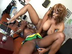 Black lesbo secretaries dildofuck