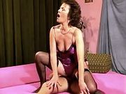 Mature has oral sex n jumps on cock