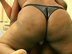 Hot black lesbians exposing asses