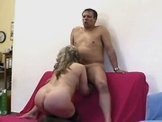 Elder mature sucks cock n has fuck