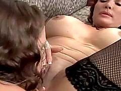 Sweet lesbians enjoy their pussies