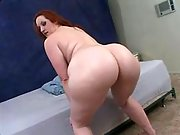Gorgeous busty fatty with big round butt